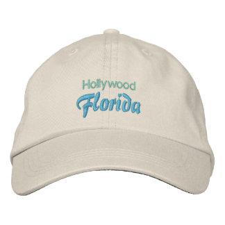 HOLLYWOOD (Florida) cap Embroidered Baseball Cap