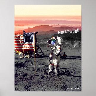 Hollywood Moon Man Poster