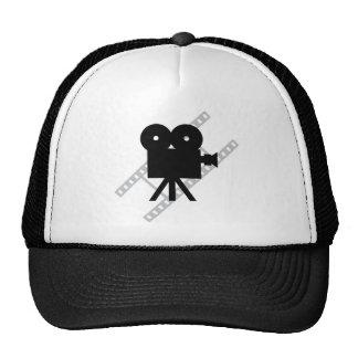 hollywood movie cine camera film trucker hat