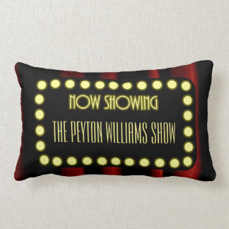 Hollywood Movie Theater Personalized Lumbar Cushion