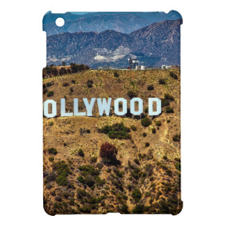 Hollywood Sign Iconic Mountains Los Angeles iPad Mini Cover