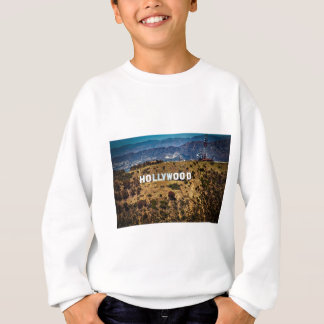 Hollywood Sign Iconic Mountains Los Angeles Sweatshirt