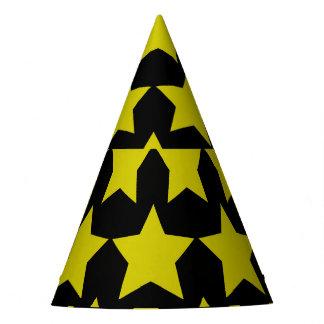 Hollywood star paper hat (Black)