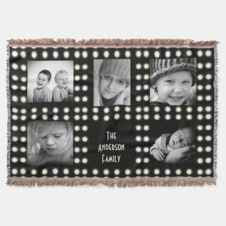 Hollywood Theme Custom Photo Family Keepsake