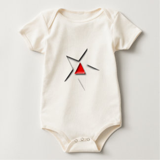 Hollywood Triangle One-sie! Baby Bodysuit