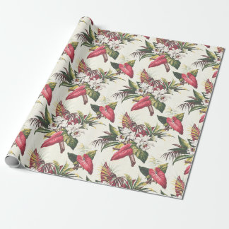 Hollywood Tropical Wrapping Paper