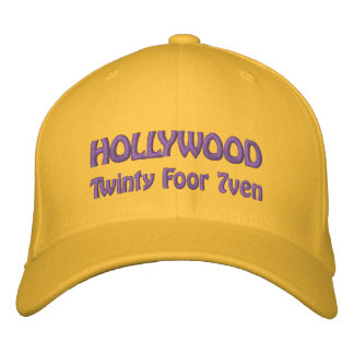 Hollywood - Twinty Foor 7ven Embroidered Hats