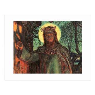 Holman Hunt Light of the World Postcard