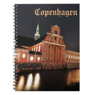 Holmens Church (Kirke) in Copenhagen, Denmark Notebook
