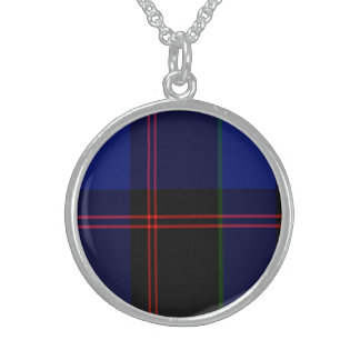 Holmes Scottish Tartan Sterling Silver Necklaces