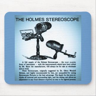 Holmes Stereoscope Advertisement (Cyanotype) Mouse Pad