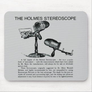 Holmes Stereoscope Advertisement - Vintage Mouse Pad