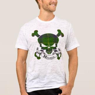 Holmes Tartan Skull T-Shirt