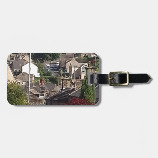 Holmfirth Street Scene Luggage Tag