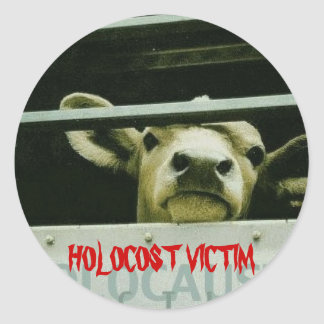 Holocost Victim Round Sticker