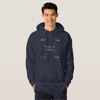 hologram aquarius mens hoodie hooded sweatshirt