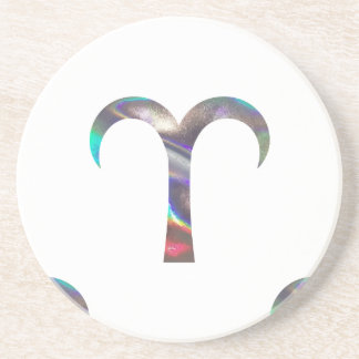hologram Aries Coaster