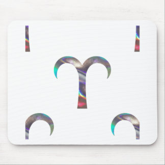 hologram Aries Mouse Pad