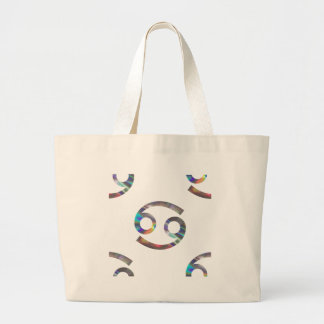 hologram Cancer Large Tote Bag