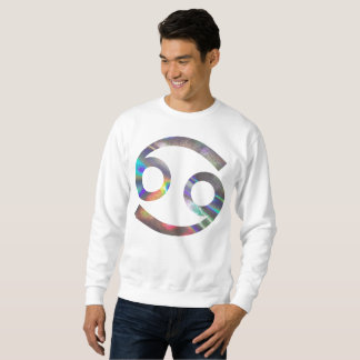 hologram cancer mens sweatshirt