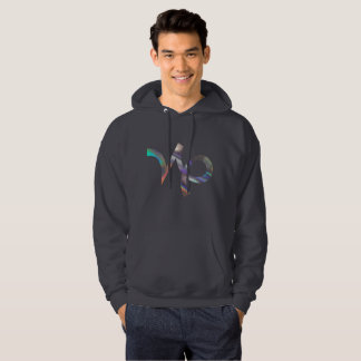 hologram Capricorn mens hoodie hooded sweatshirt