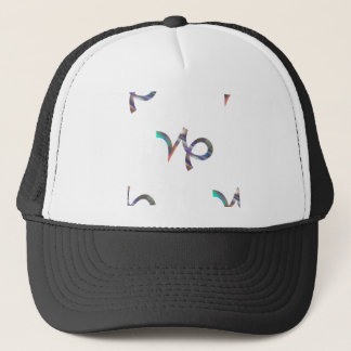 hologram Capricorn Trucker Hat
