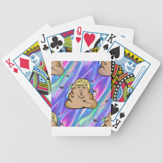 hologram dump trump bicycle playing cards