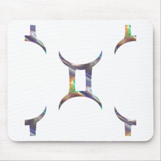 hologram Gemini Mouse Pad