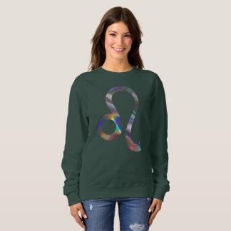 hologram leo womens sweatshirt