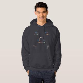 hologram libra mens hooded hoodie hoody sweatshirt