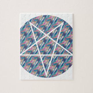 hologram pentagram puzzle