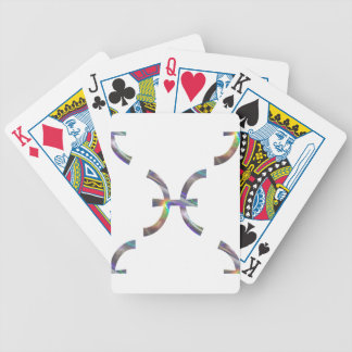 hologram Pisces Bicycle Playing Cards