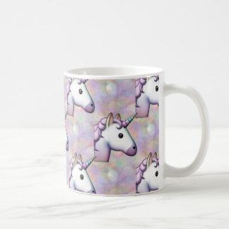 hologram unicorn emoji coffee mug
