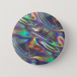 holographic 6 cm round badge