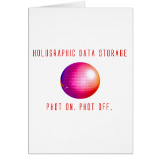 Holographic Data Storage Card