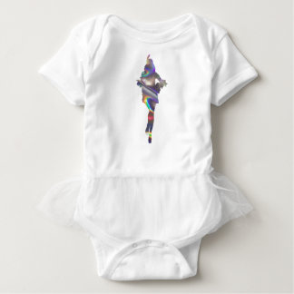 holographic flapper baby bodysuit