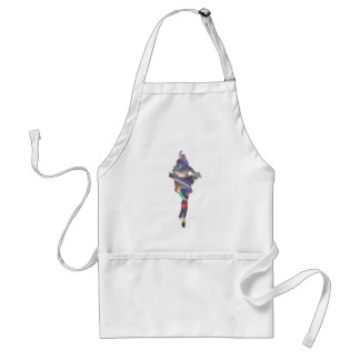 holographic flapper standard apron