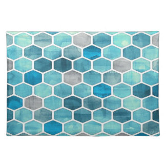 Holographic Honeycomb! Place Mat