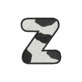 Holstein Letter Z