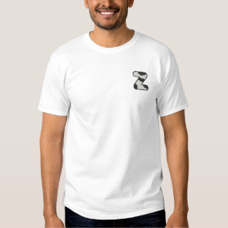 Holstein Letter Z Embroidered T-Shirt