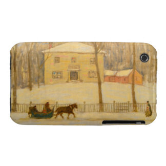 Holtons Old House in Montreal James Wilson Morrice iPhone 3 Case