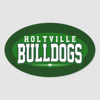 Holtville High School; Bulldogs Oval Stickers