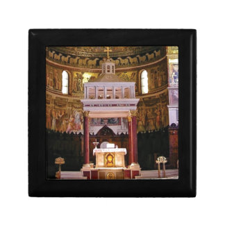 holy alter in church gift box