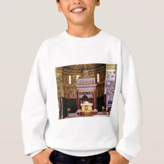 holy alter in church sweatshirt