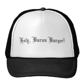 Holy Bacon Burger Cap