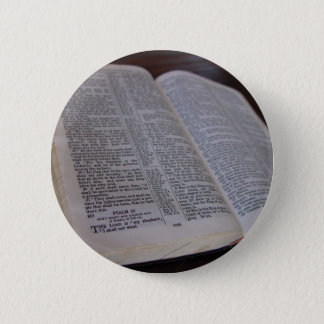Holy Bible 6 Cm Round Badge