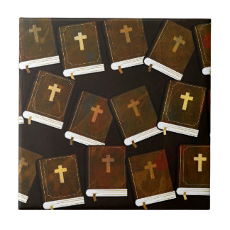 Holy Bible abstract ministry Ceramic Tile