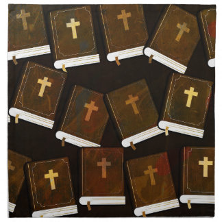 Holy Bible abstract ministry Napkin