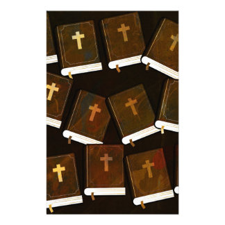 Holy Bible abstract ministry Stationery