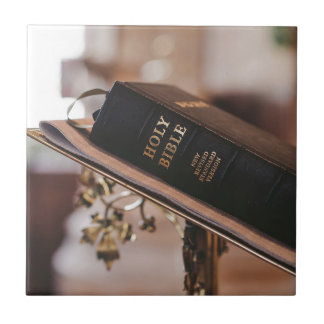 Holy bible ceramic tile